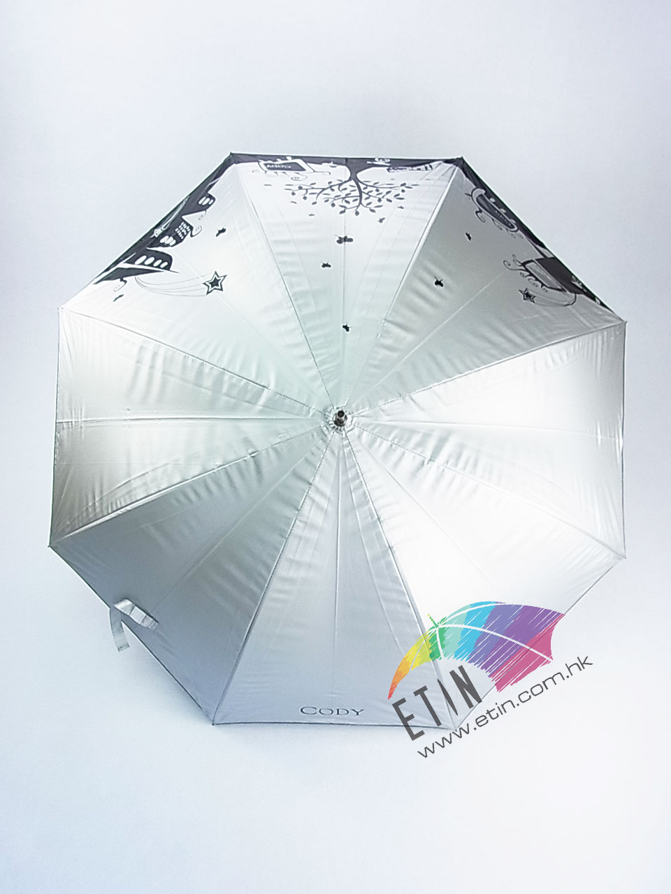 Etin Strong wind proof and double layer umbrella A005