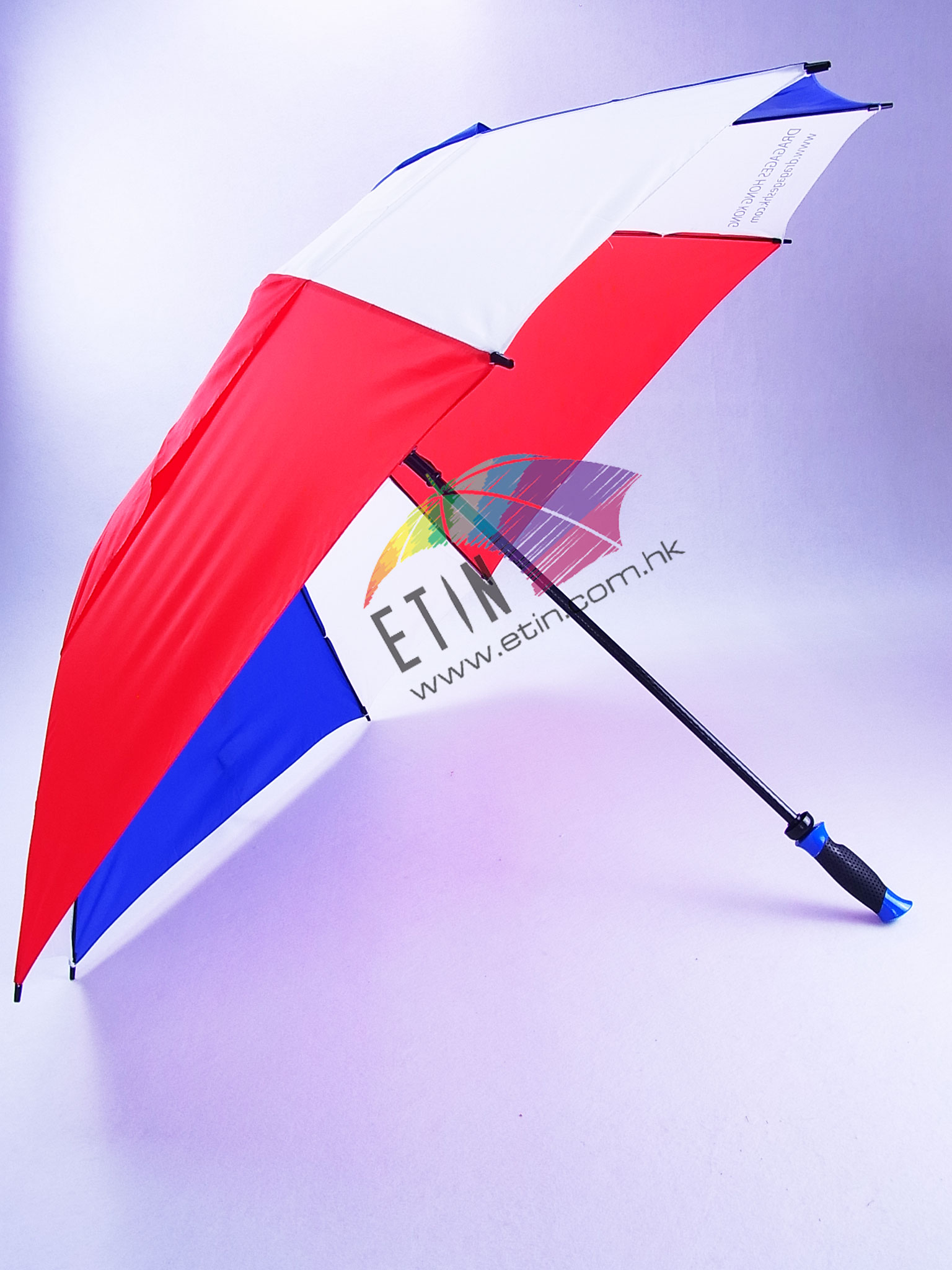 Etin Square shape vented canopy golf umbrella C001