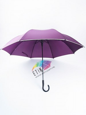 Auto open button on handle umbrella A011